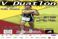 Este domingo se disputa el V Duatlón Cross Doña Blanca