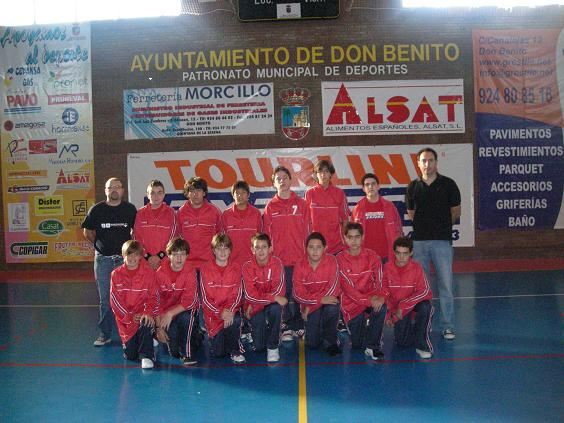 Equipo Infantil del Tourline Express Don Benito